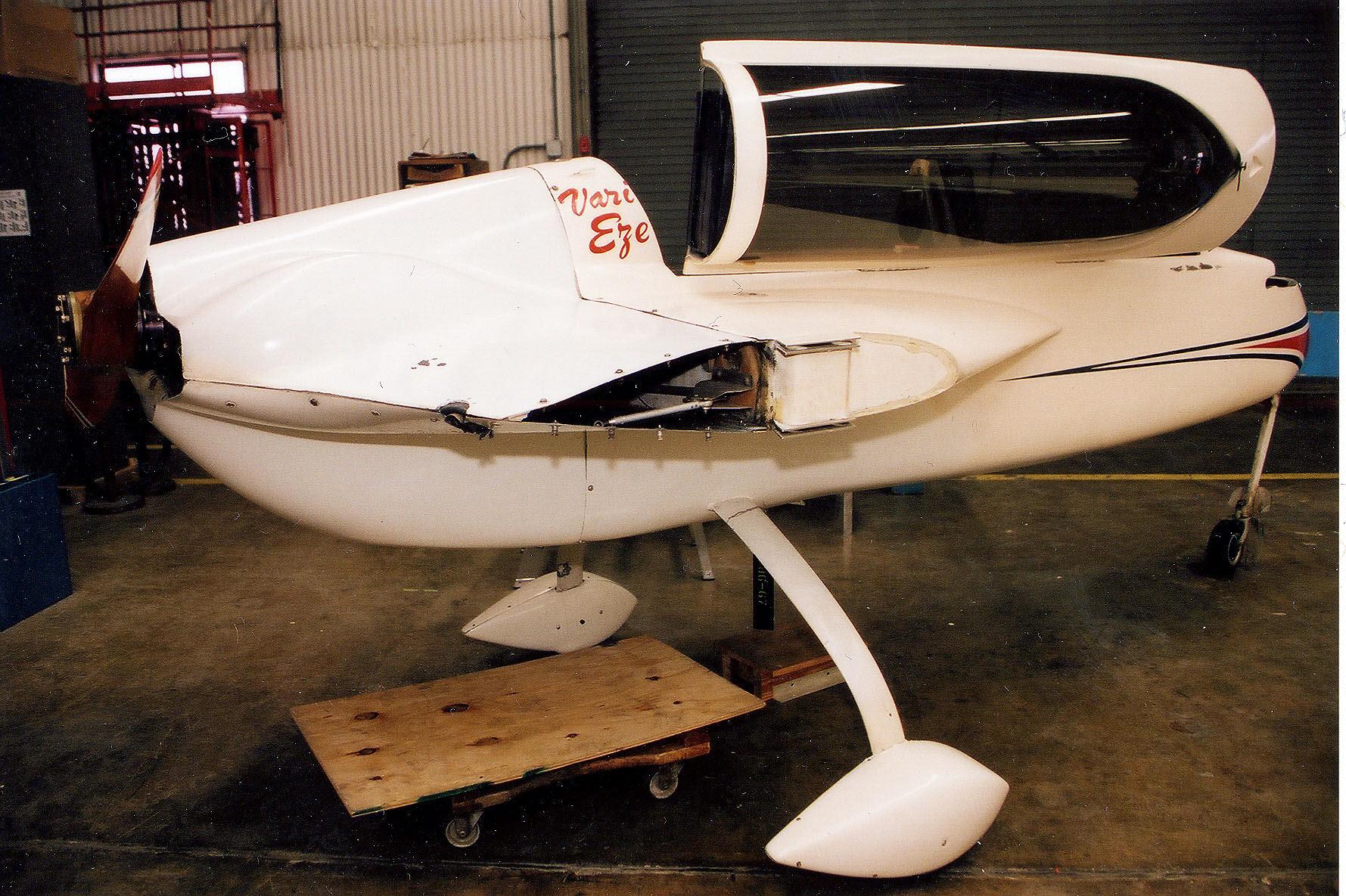 Rutan VariEze | National Air and Space Museum