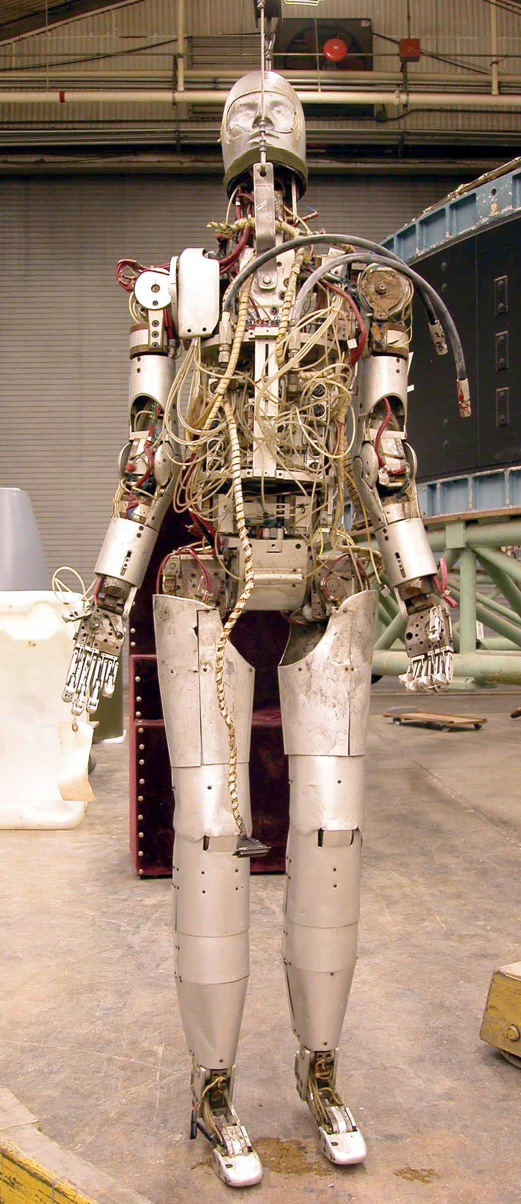 Image of : Android, Space Suit, Testing