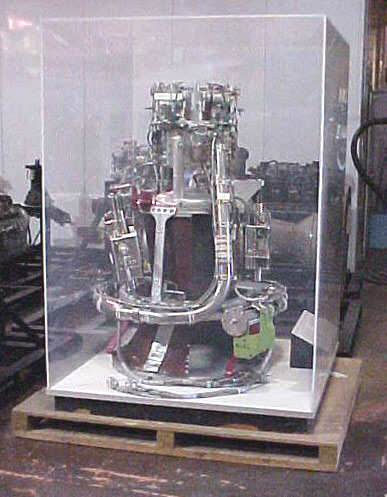Image of : Rocket Engine, Liquid, Chamber, Apollo Service Module Propulsion System (SPS)