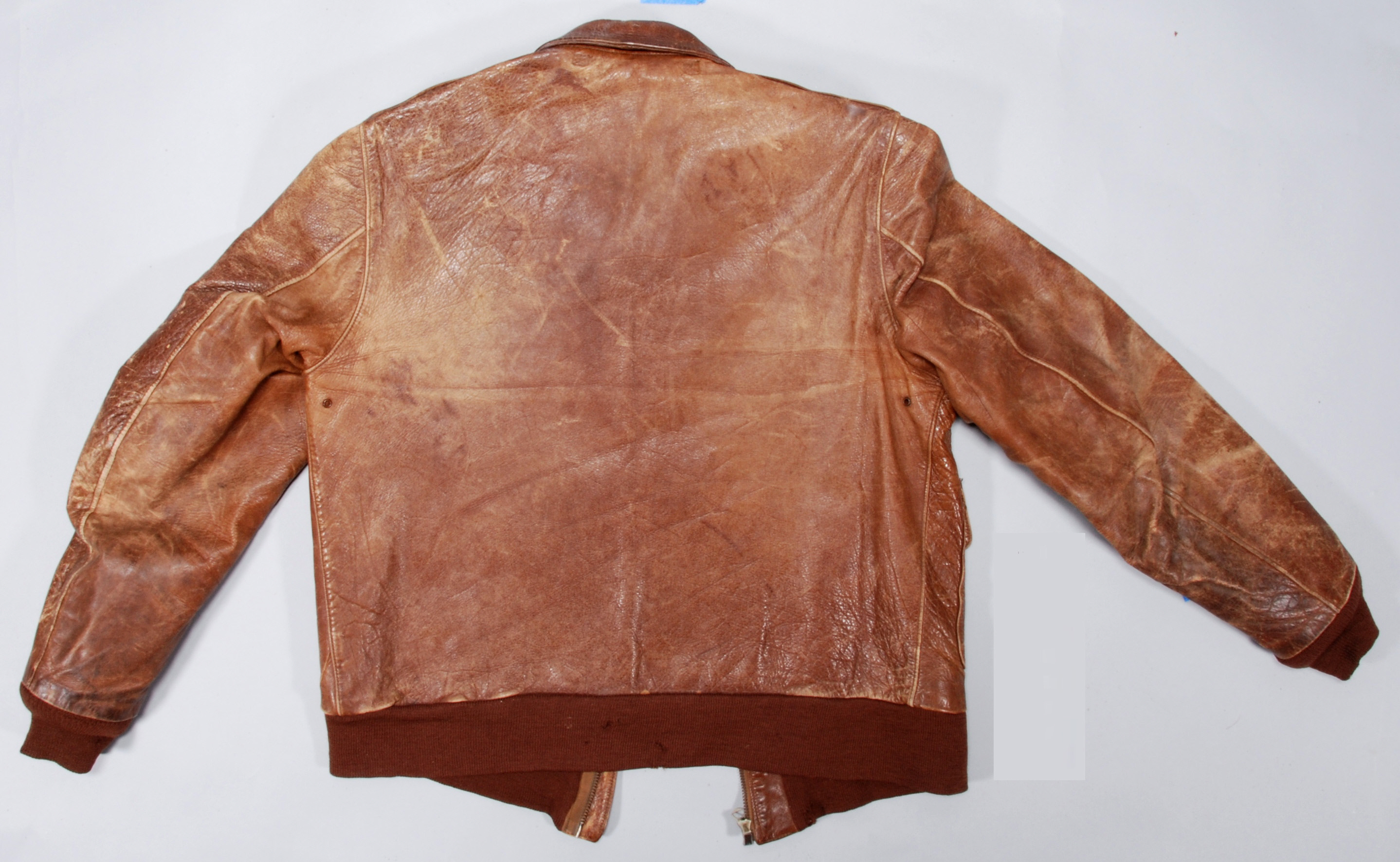 Image of : Jacket, Flying, Type A-2, United States Army Air Forces, Gen. Charles E. Yeager