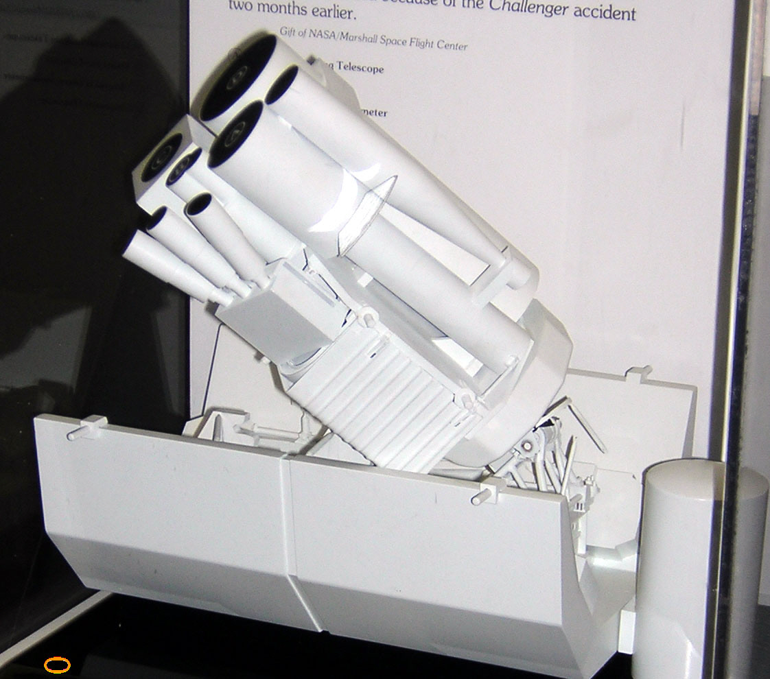 Image of : Model, Observatory, UV, Orbiting, Astro-1, 1:20
