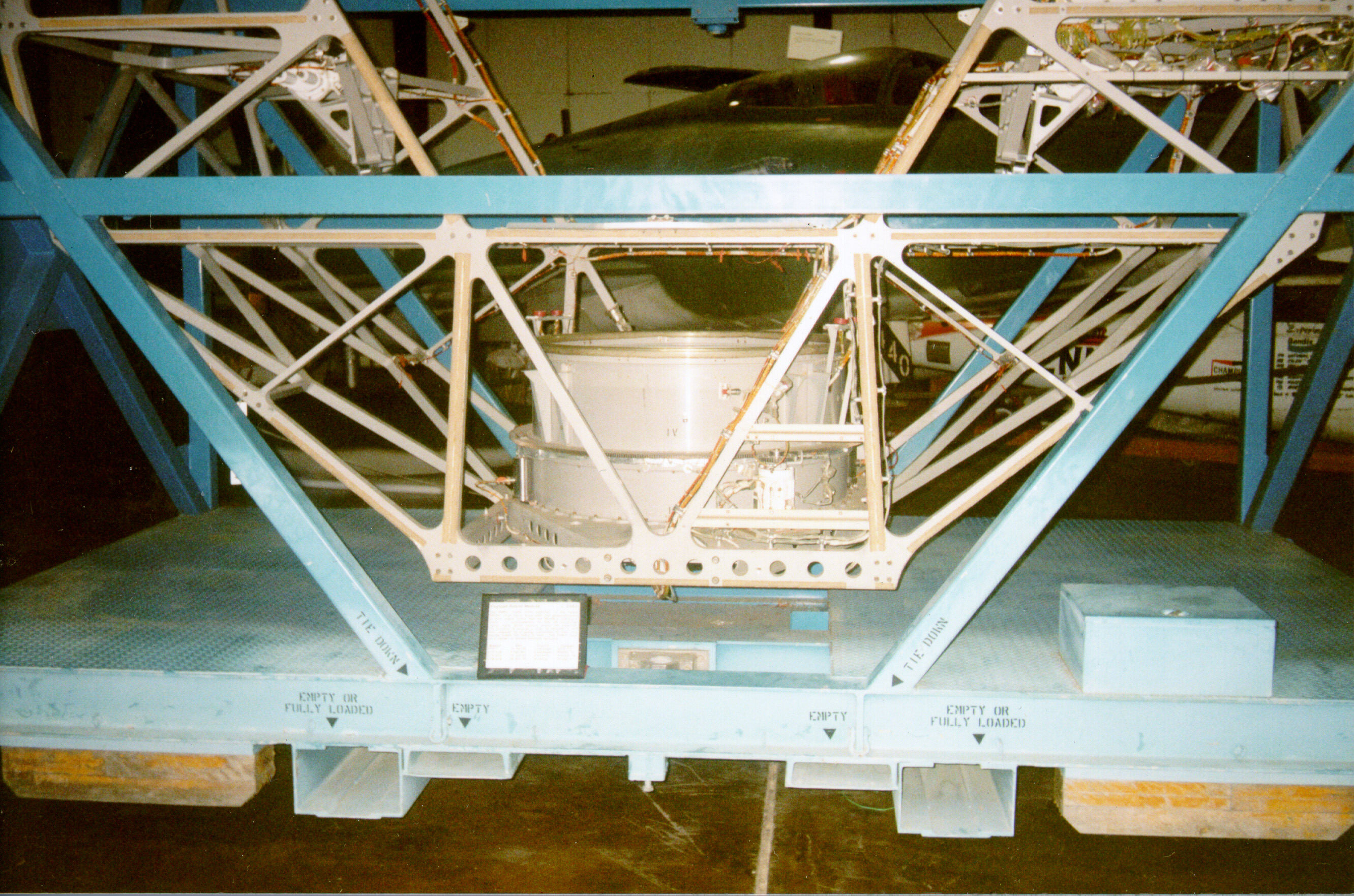 Image of : Cradle, Payload Assist Module (PAM-D), Space Shuttle (flown)