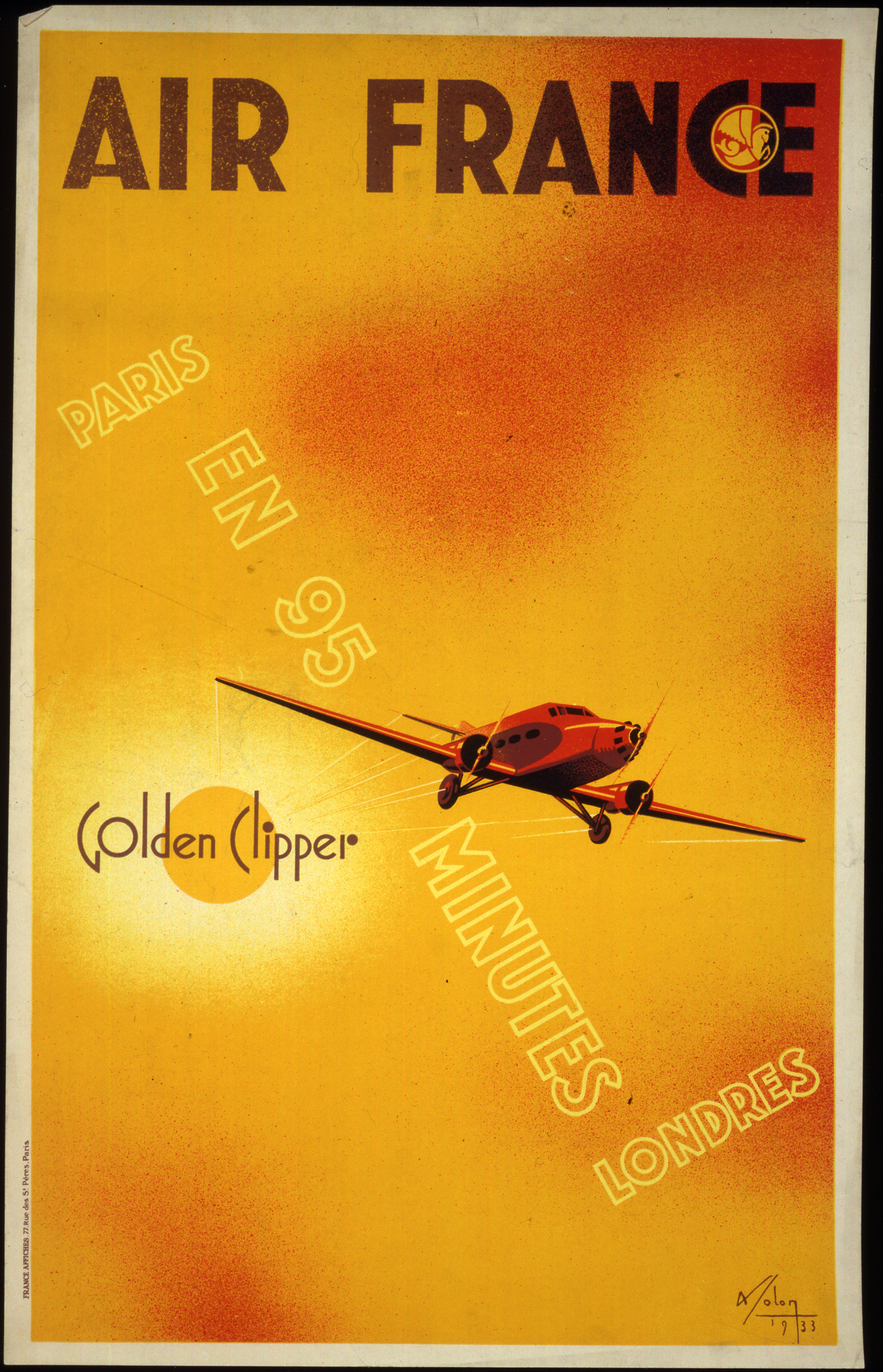 Spaces Rue De Londres air france golden clipper | national air and space museum