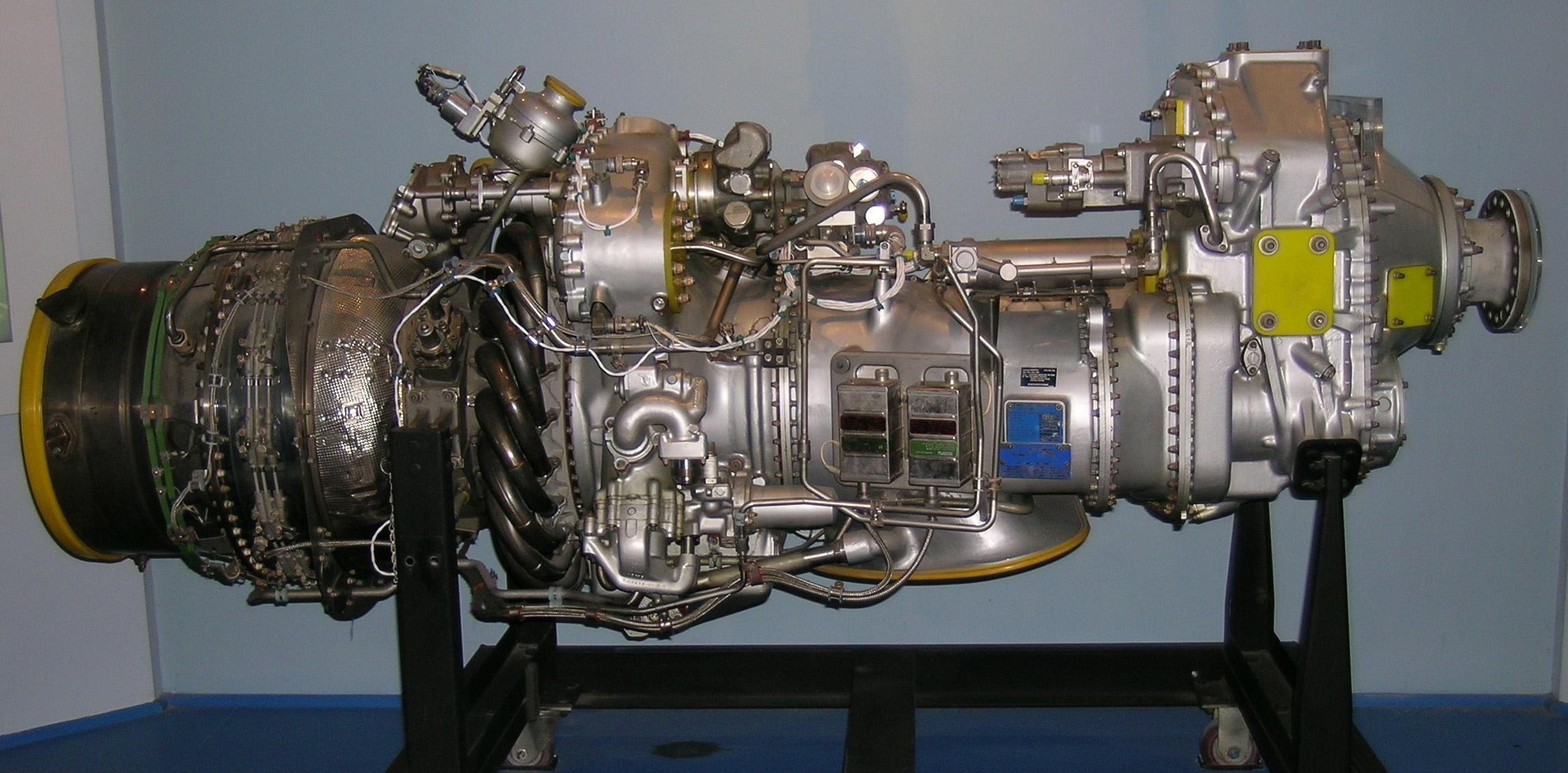 Image of : Pratt & Whitney Canada PW123 Turboprop Engine