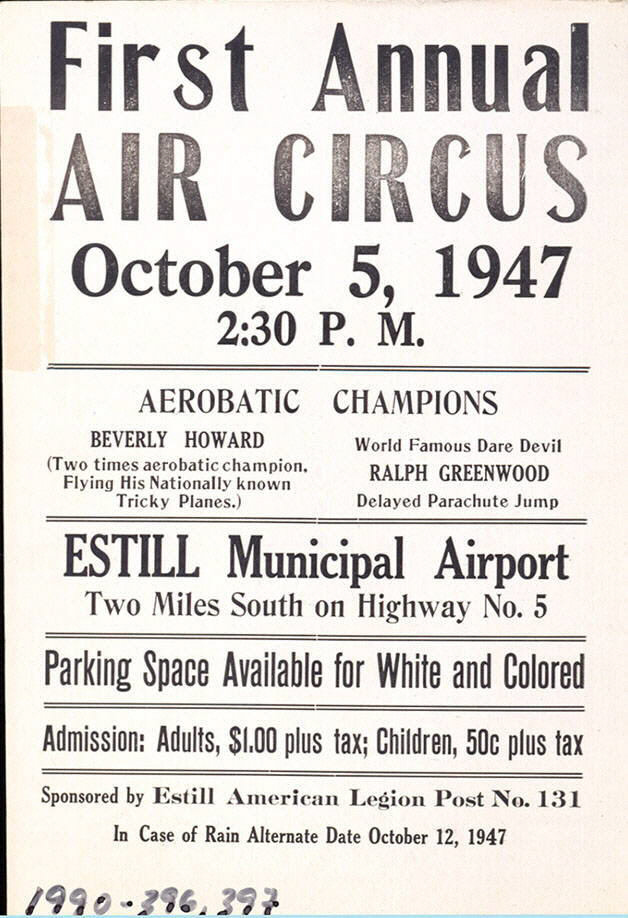Image of : First Annual Air Circus