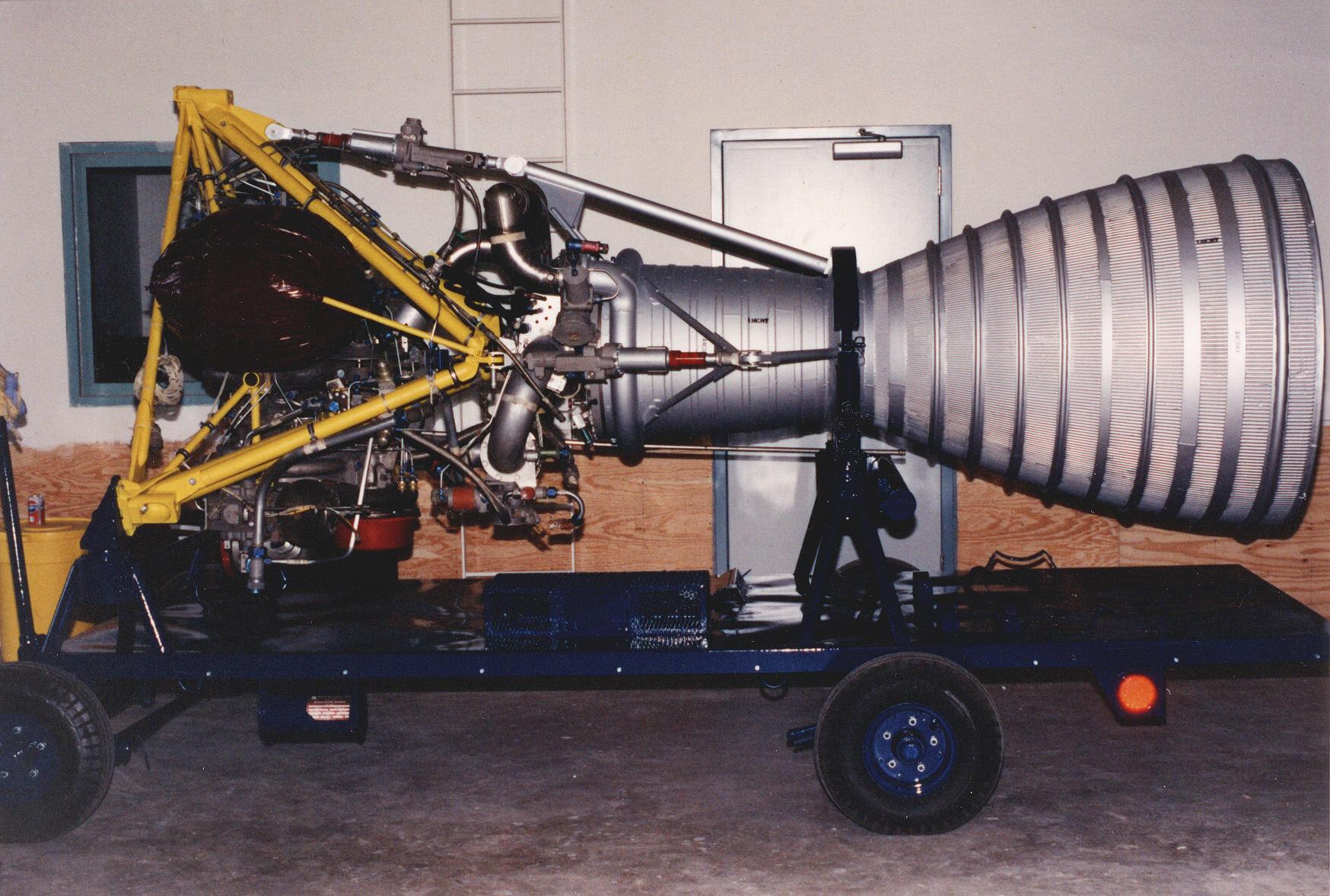 Image of : Rocket Engine, Liquid Fuel, S-3, for Jupiter Missile