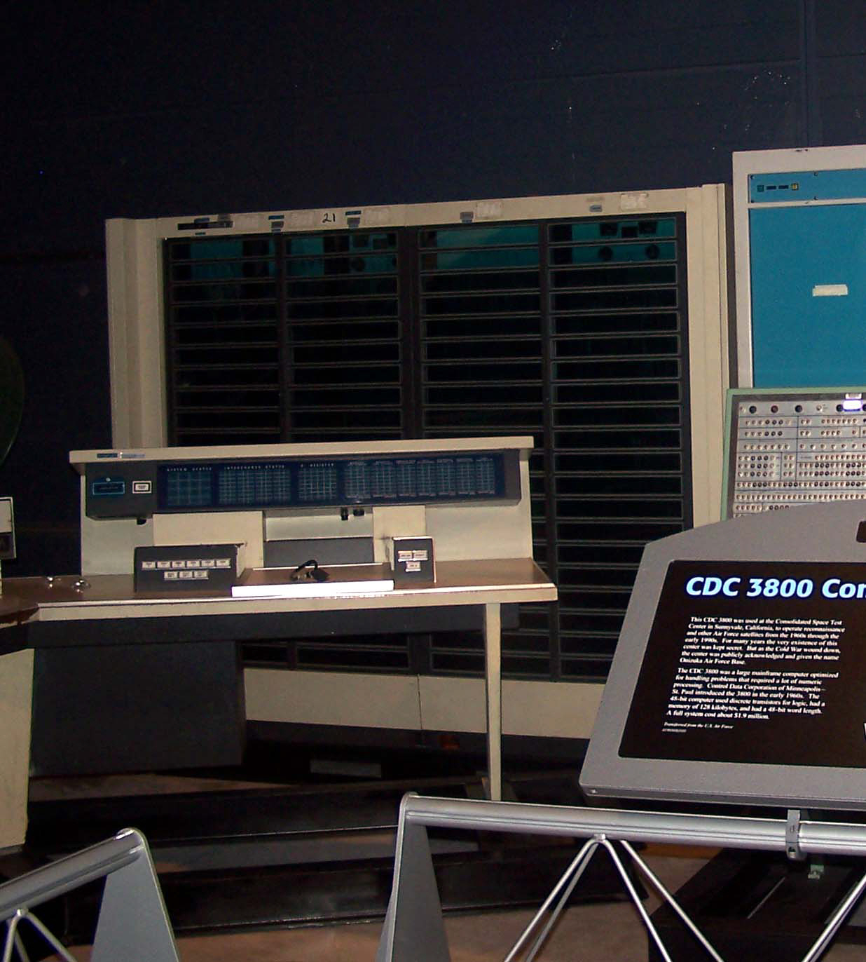 Image of : Processor Unit, Computer, CDC 3800