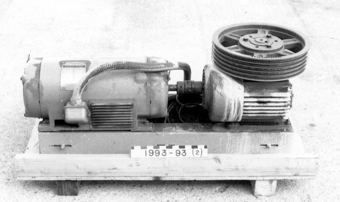 Image of : Drive Motor, Mirror Grinding Machine, G. W. Ritchey