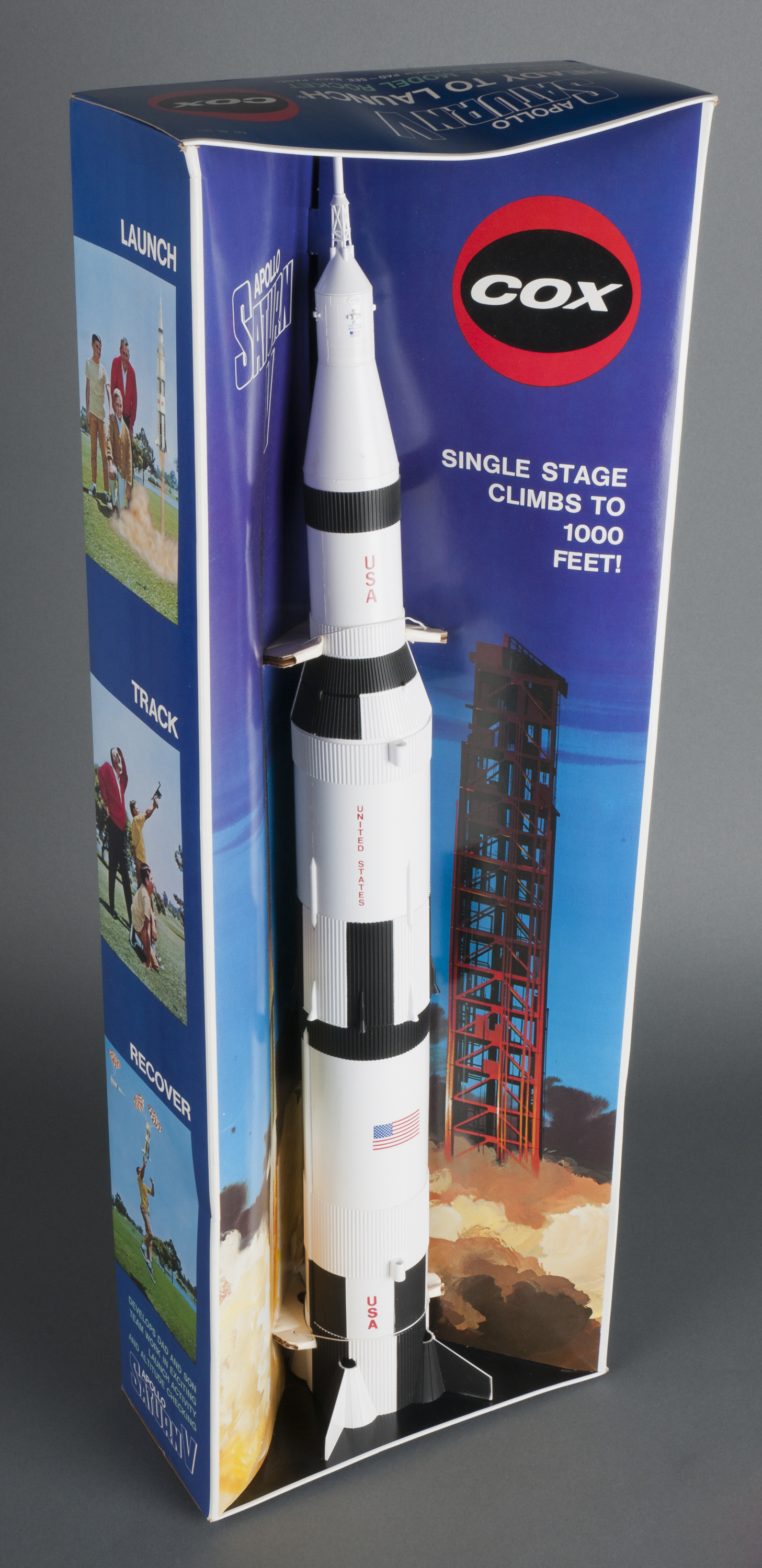 Rocket, Flying Model Kit, Saturn V | National Air and ...