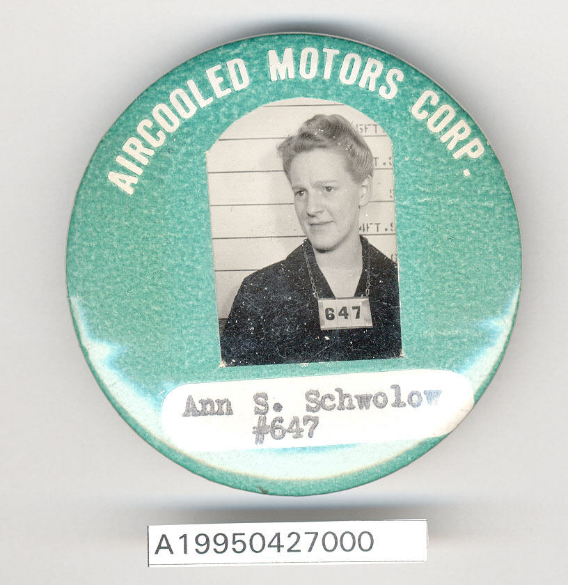 Image of : Aircooled Motors Corp. Identification Badge