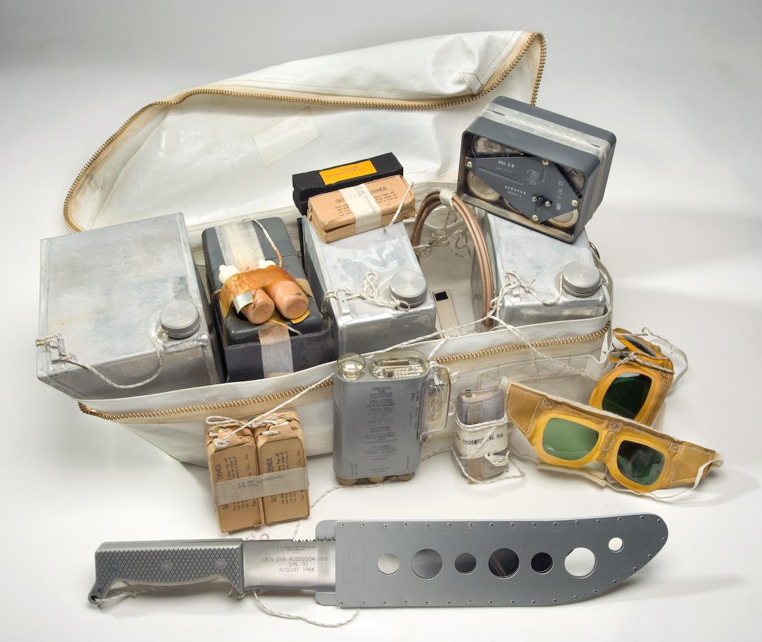Image of : Rucksack #1, Survival Kit, Apollo 11