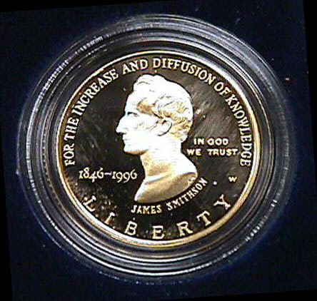Image of : Coin, Smithsonian Commemorative, STS-79