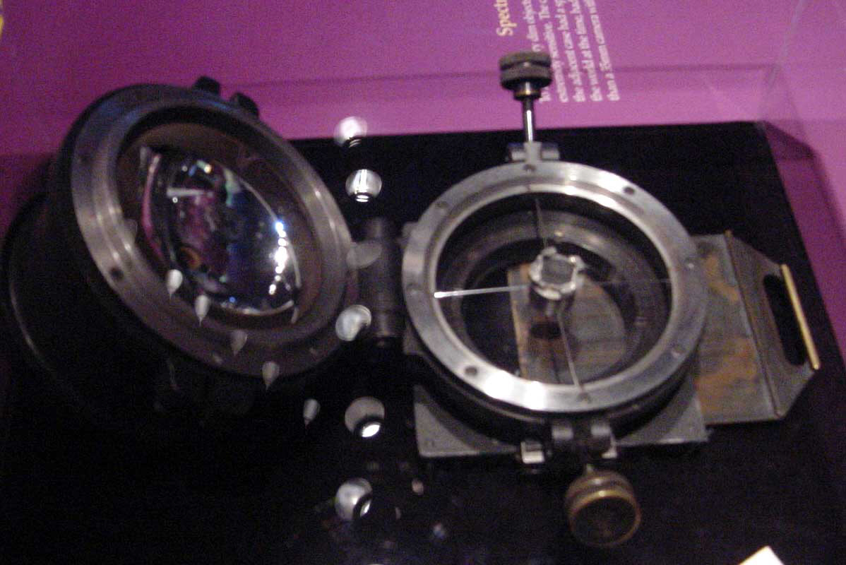 Image of : Camera, Prime focus spectrograph, f / 0.5