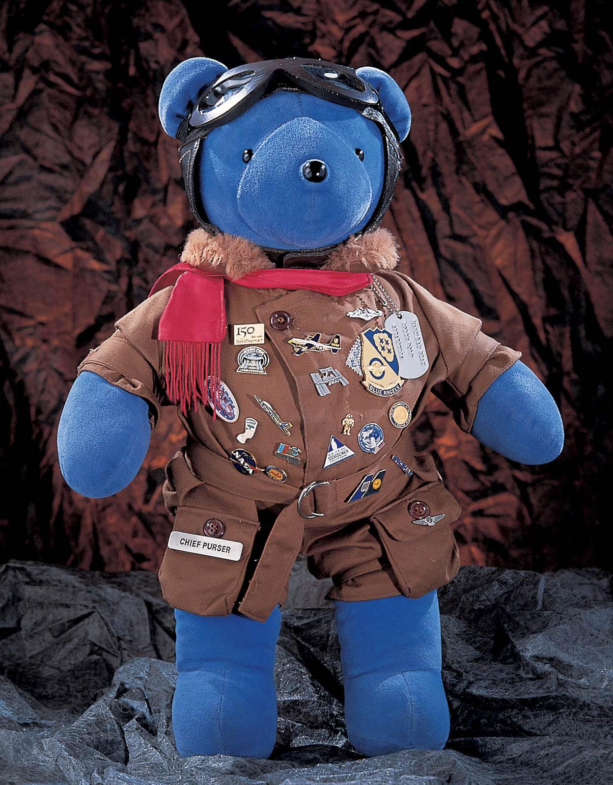 Image of : Toy, Stuffed, Teddy Bear (Magellan T. Bear), STS-63