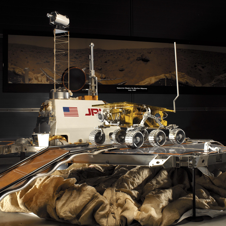 Image of : Engineering Model, Lander, Mars, Pathfinder