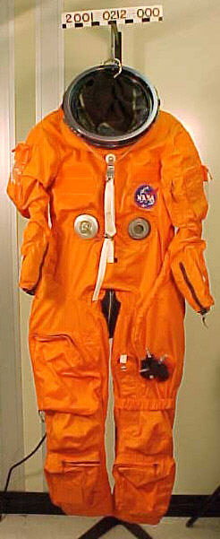 Image of : Pressure Suit, Shuttle Launch-Entry