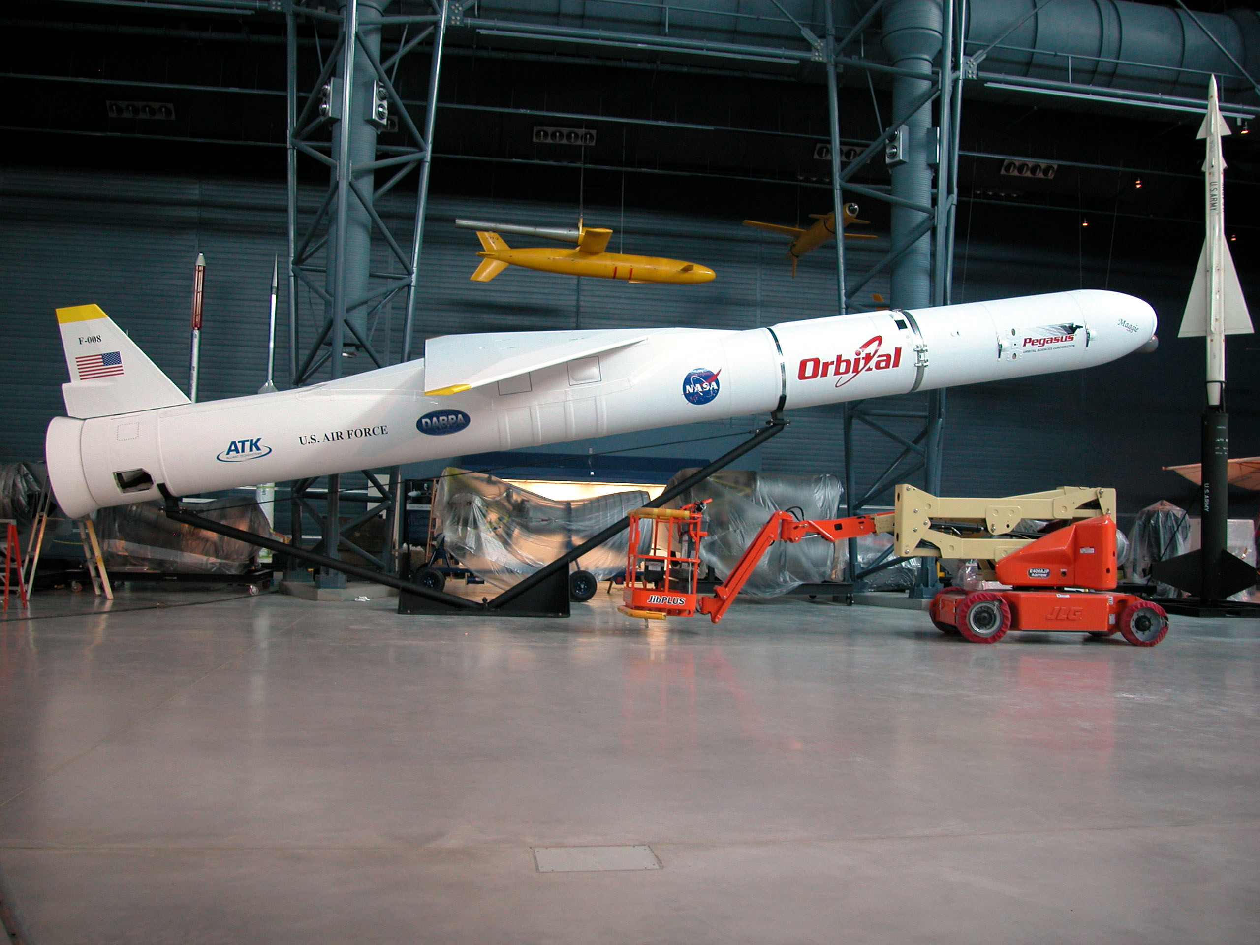 Image of : Launch Vehicle, Pegasus XL, Orbital Sciences Corporation