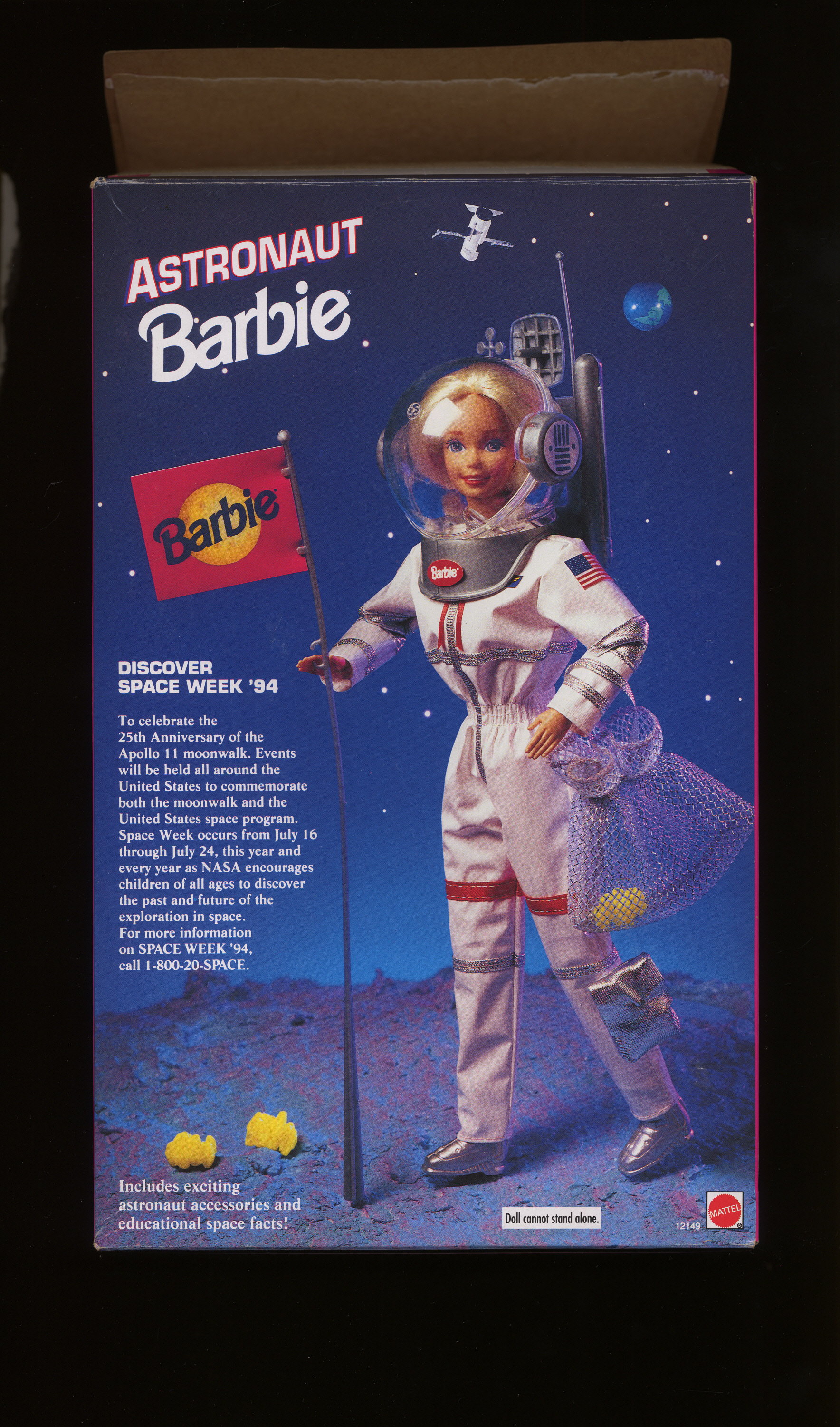 Box Doll Barbie Astronaut Toys R Us National Air And Space Museum