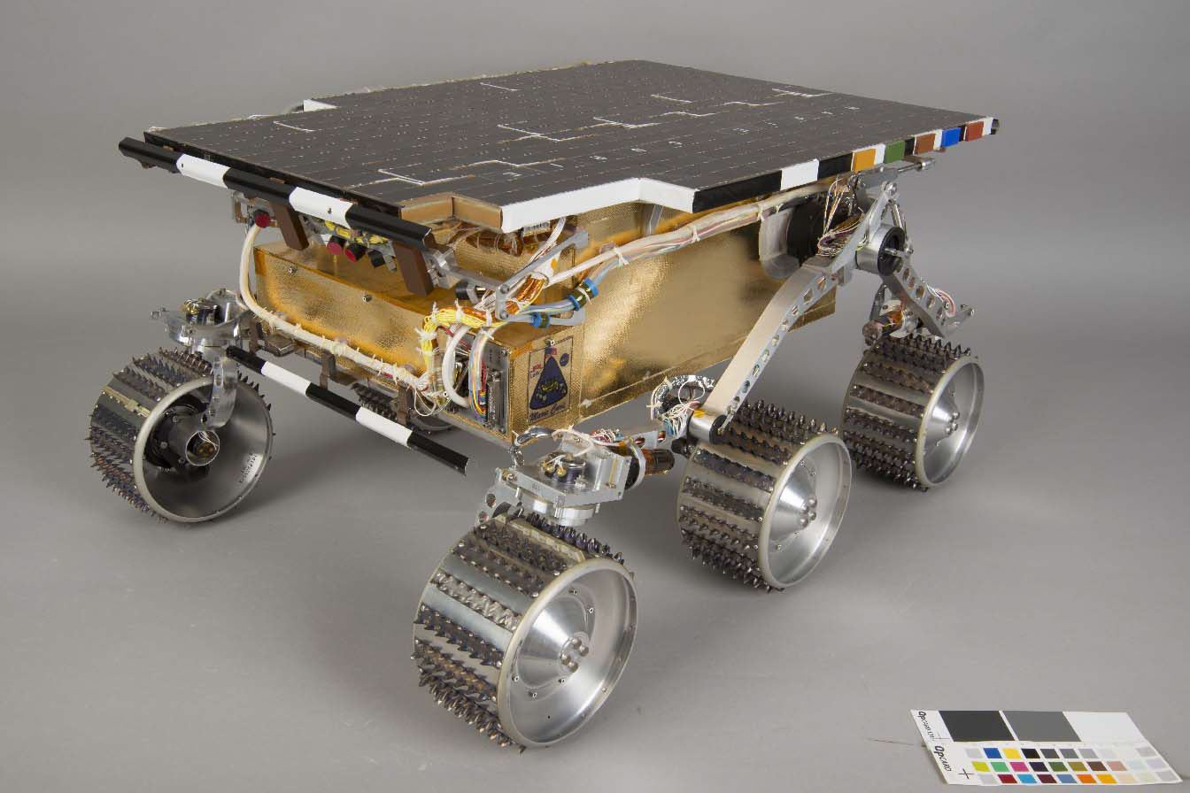Image of : Rover, Marie Curie, Mars Pathfinder, Engineering Test Vehicle