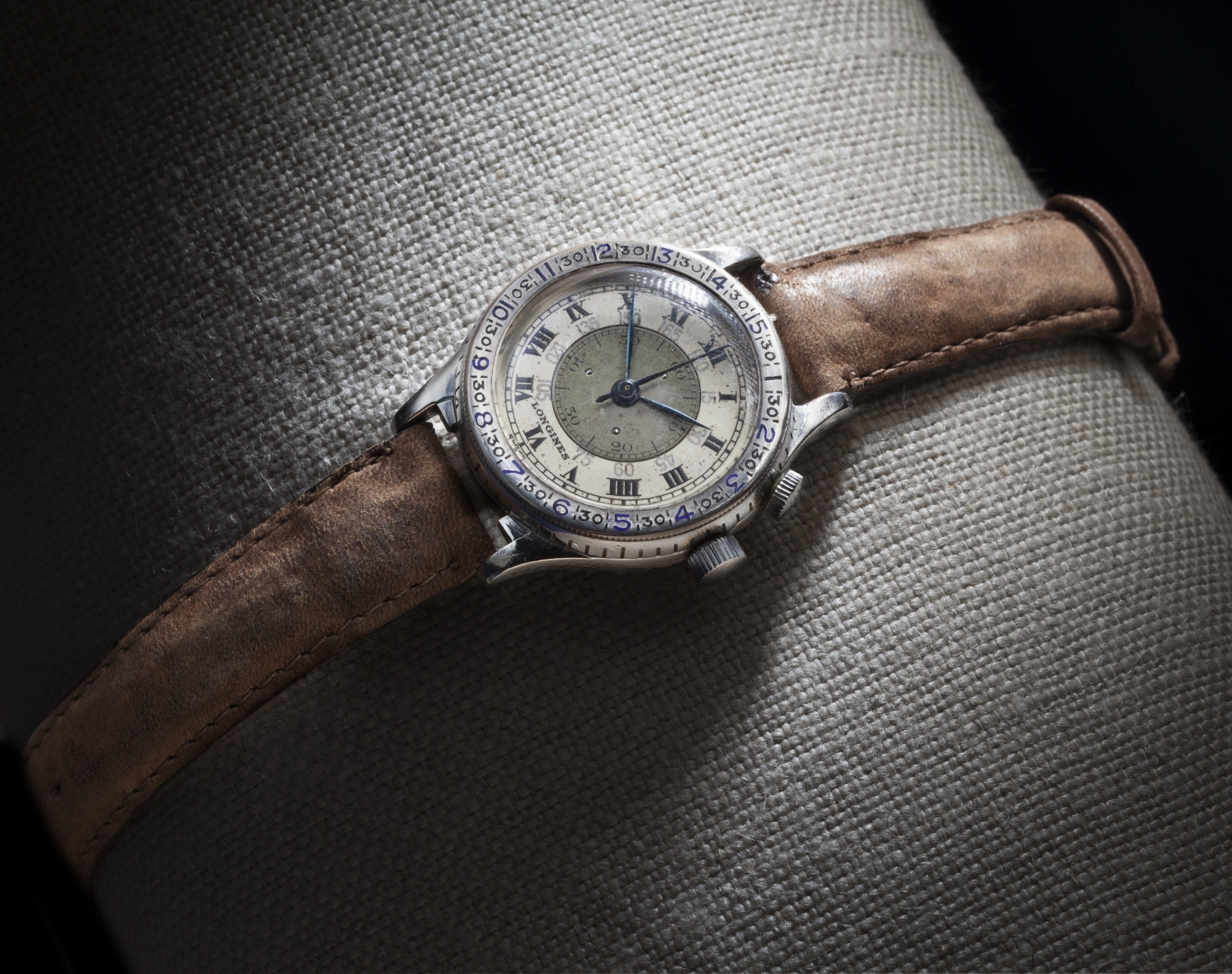 Image of : Wristwatch, Hour Angle, Lindbergh, King Collection