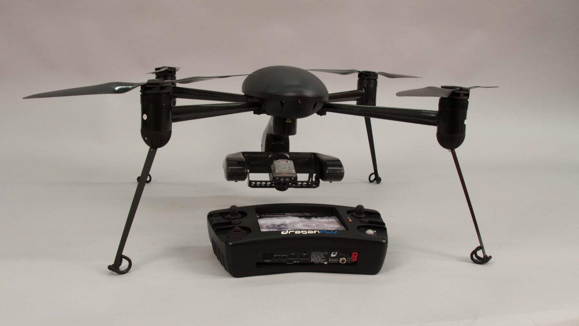 Image of : Drone, Quadrotor, Draganflyer X4-ES