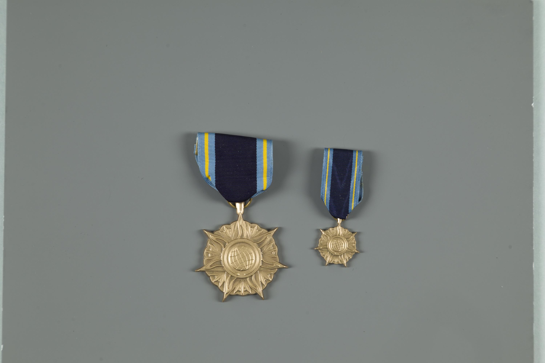 Image of : Medal, NASA Distinguished Public Service Medal, 1995