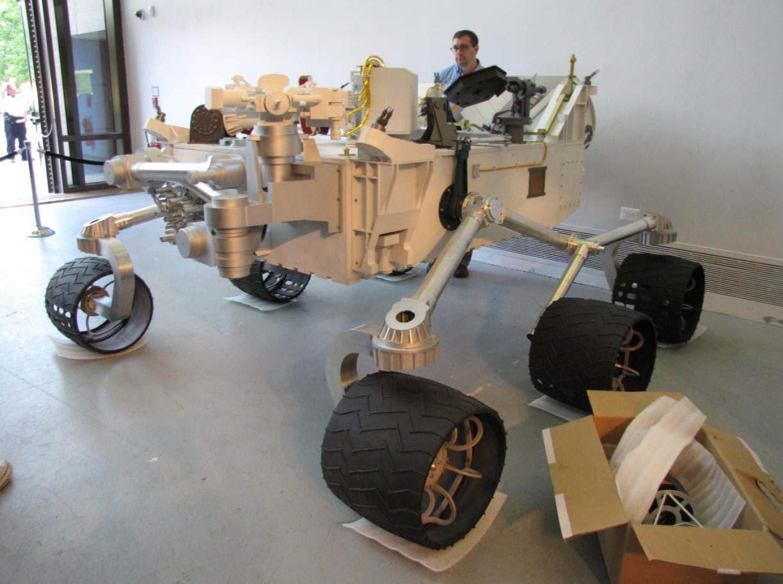 Image of : Model, Mars Science Laboratory, Mars Rover Curiosity