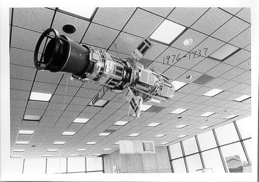 Image of : Satellite, Explorer 46: Meteoroid Technology Satellite, Backup