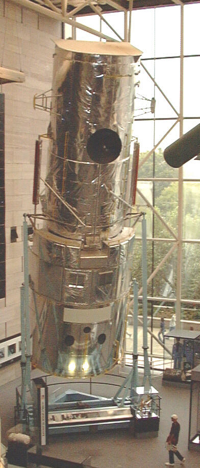 Image of : Structural Dynamic Test Vehicle, Hubble Space Telescope