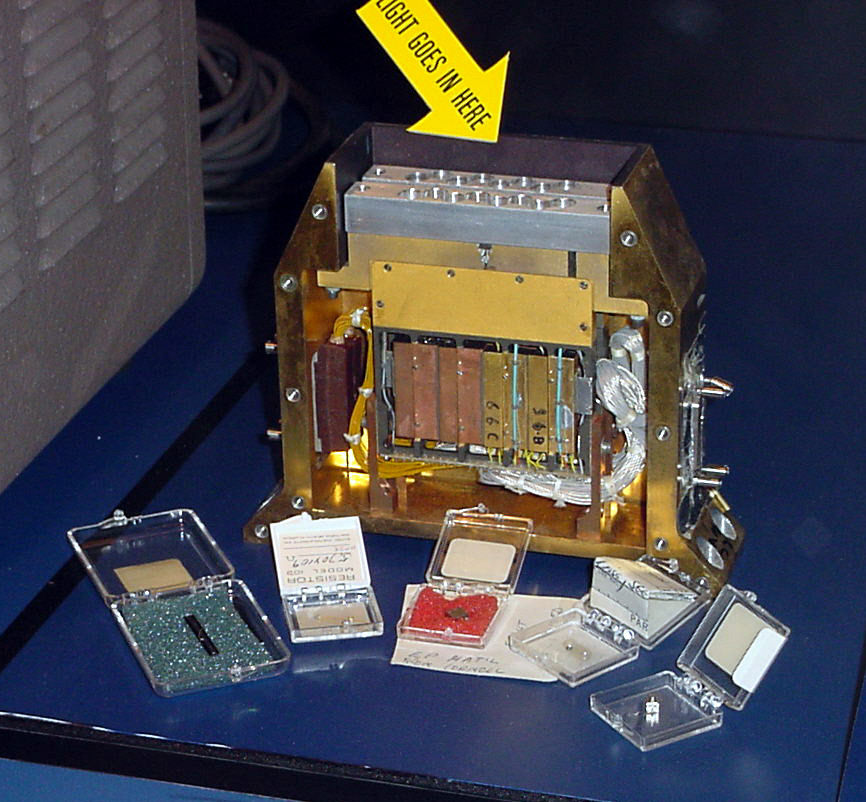 Image of : Infrared Detector Elements, IRAS Satellite