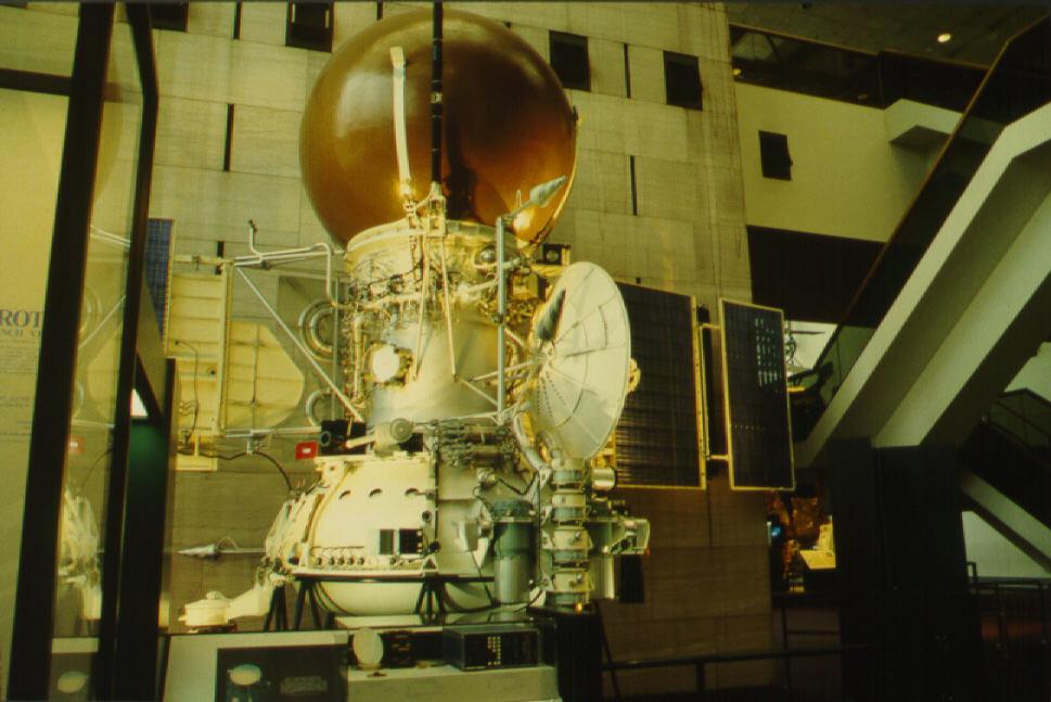 Image of : Solar System Probe, Landing Apparatus and Orbital Bus, Vega Engineering Model