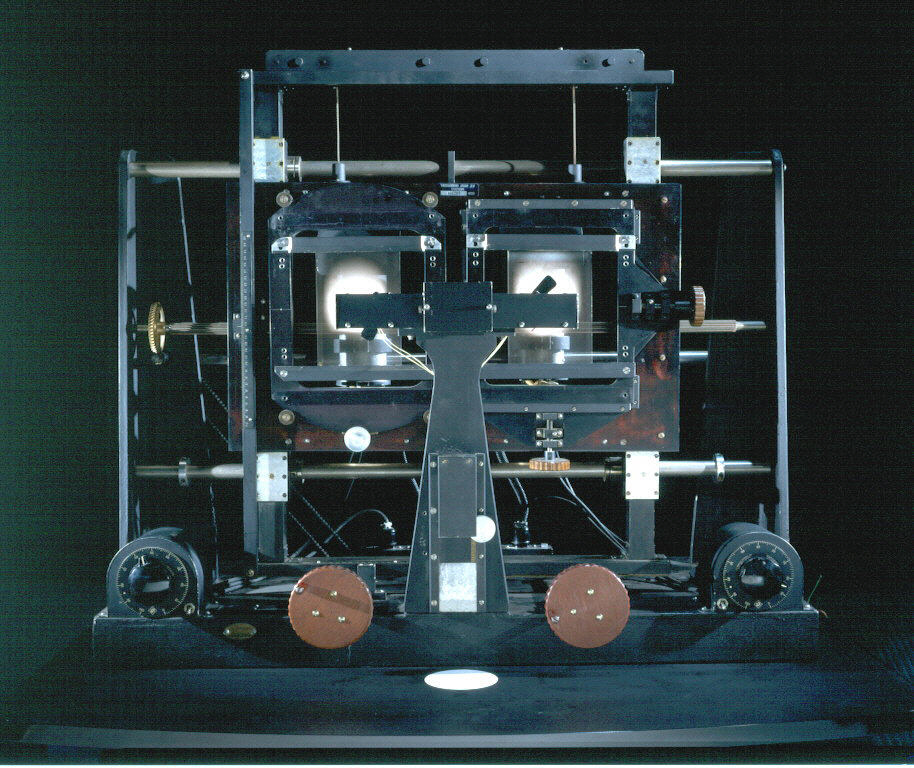 Image of : Microscope, Astronomical, Stereo Blink.