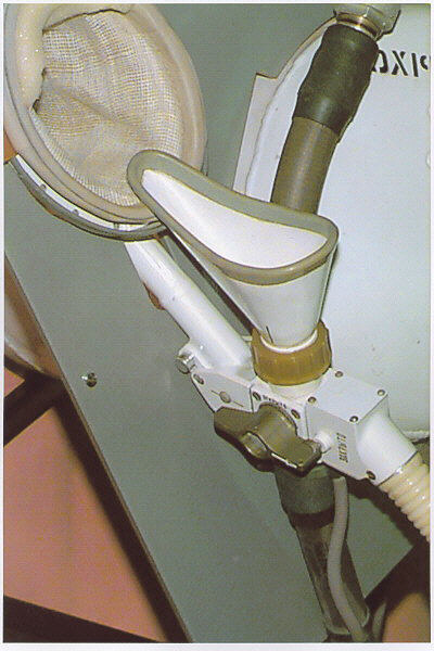 Image of : Human Waste Disposal Unit, Soyuz Spacecraft, Male Configuration