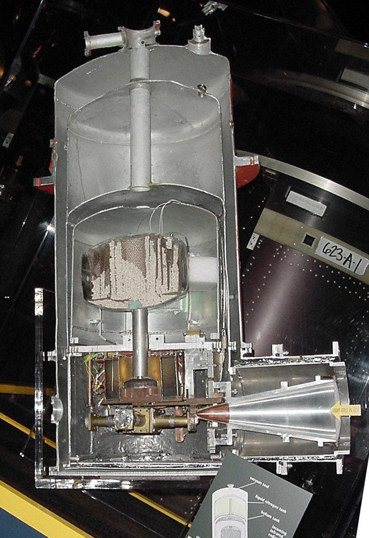 Image of : Radiometer, Far-Infrared, Balloon Borne