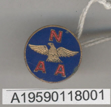 Image of : Pin, Lapel, National Aeronautic Association, Glenn L. Martin