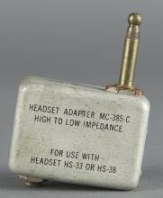 Adapter, Headset. MC-385C