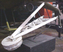 Image of : Leg Pad, Lunar Lander, Surveyor, Mockup