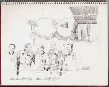 Image of : Prime Crews Apollo-Soyuz