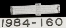 Image of : Slide Rule, 5-inch, Pickett N600-ES, Apollo 13