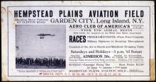 Image of : Hempstead Plains Aviation Field Races