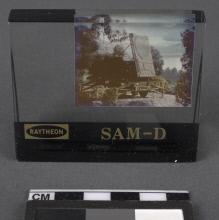Acrylic Photo Block, Model, Missile, SAM-D
