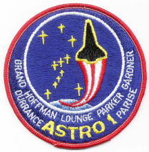 Image of : Patch, Mission, STS-35