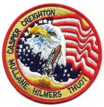 Image of : Patch, Mission, STS-36