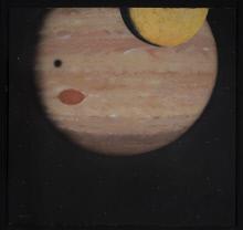 Acrylic on canvas, Jupiter