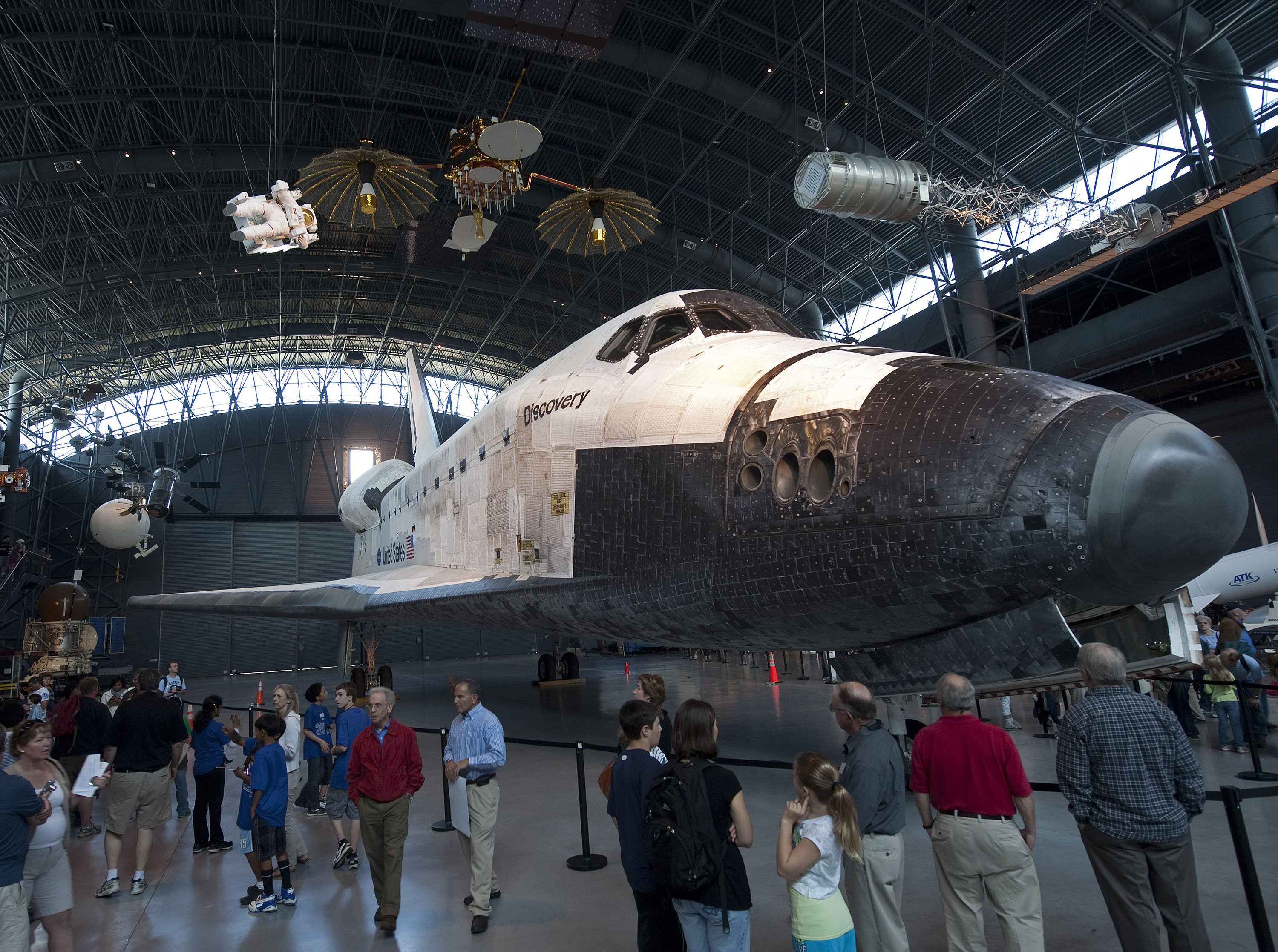 visit space shuttle discovery - photo #7