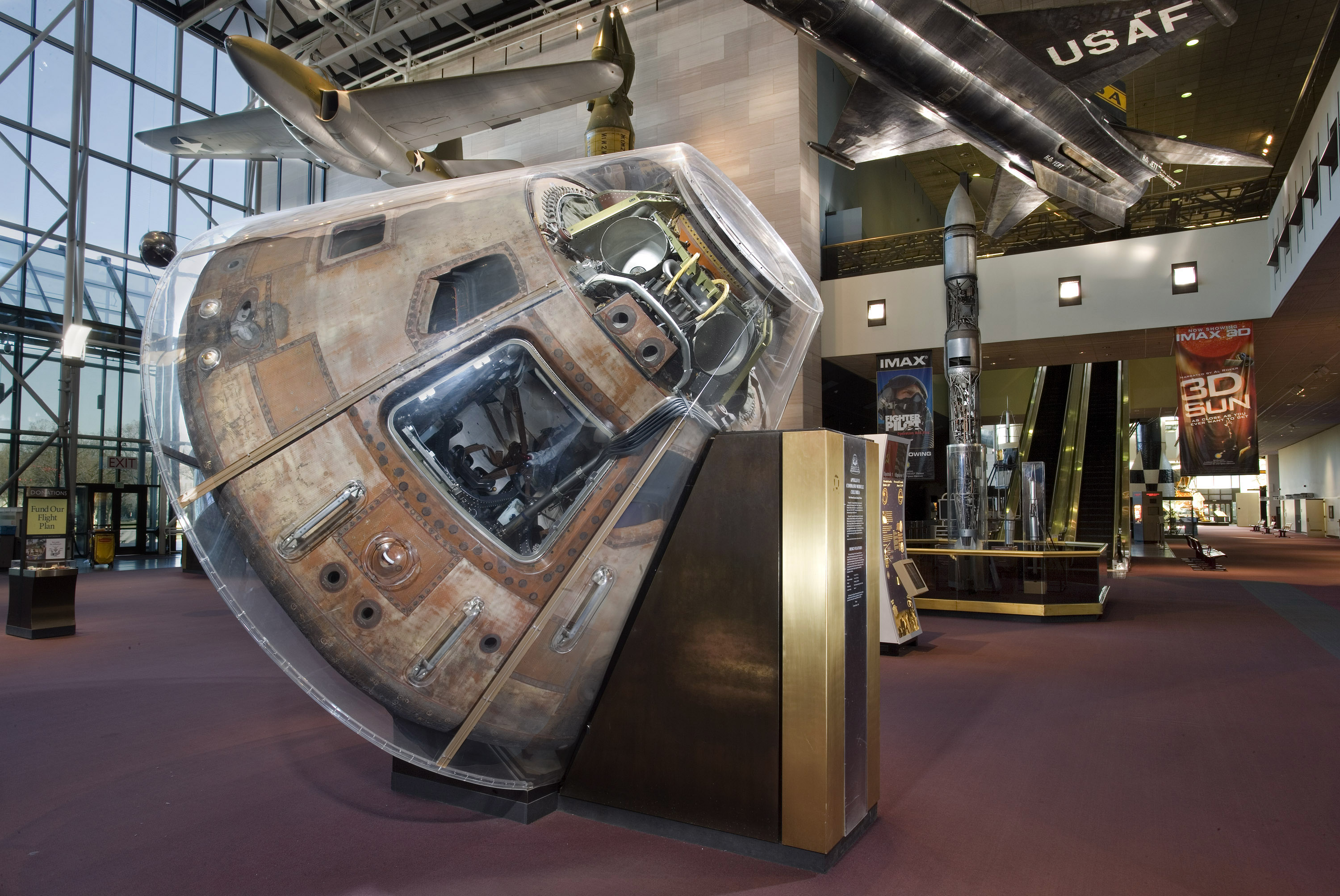 Apollo 11 Command Module Columbia | National Air and Space ...