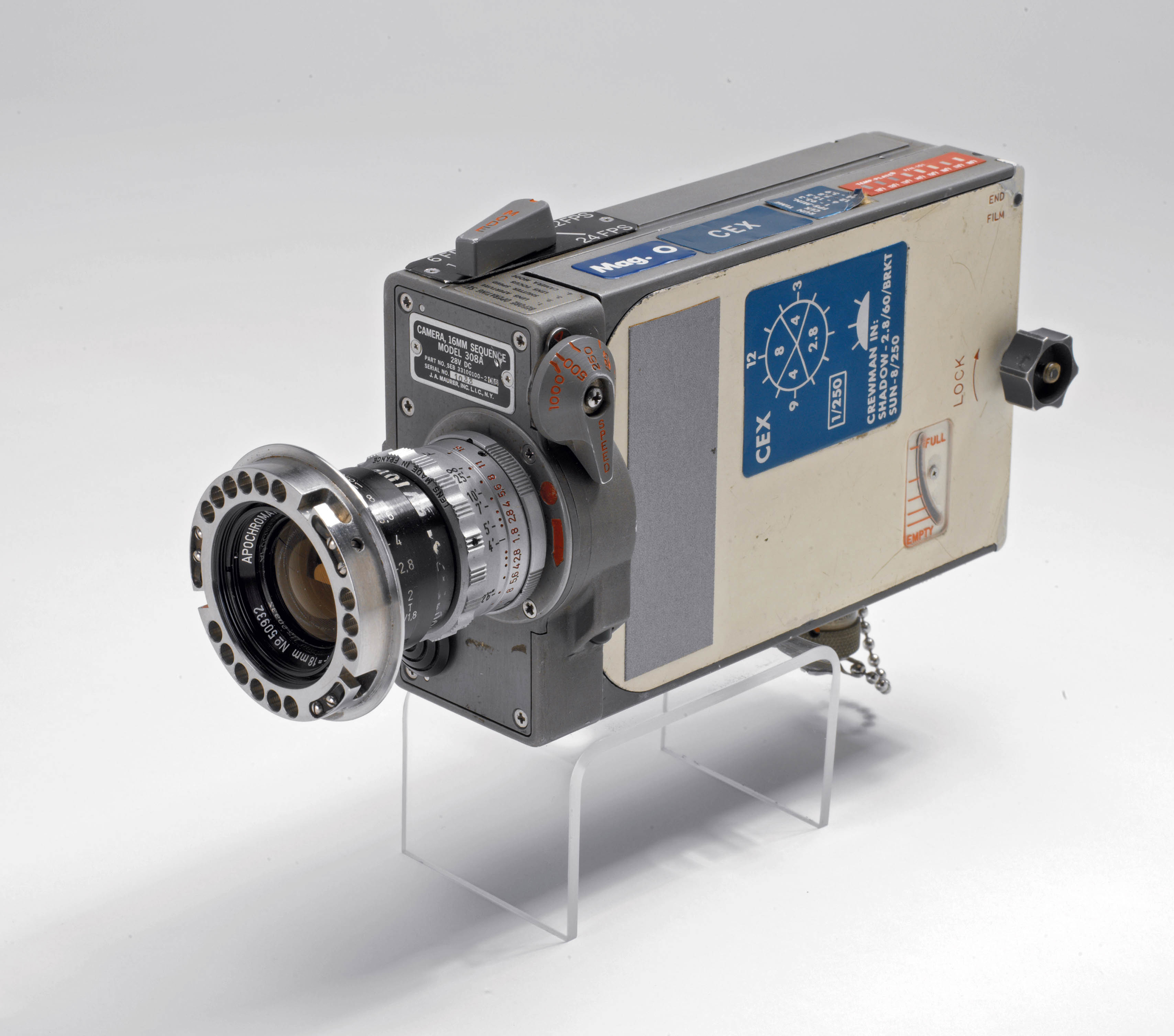 Apollo 12 Lunar Movie Camera | National Air and Space Museum