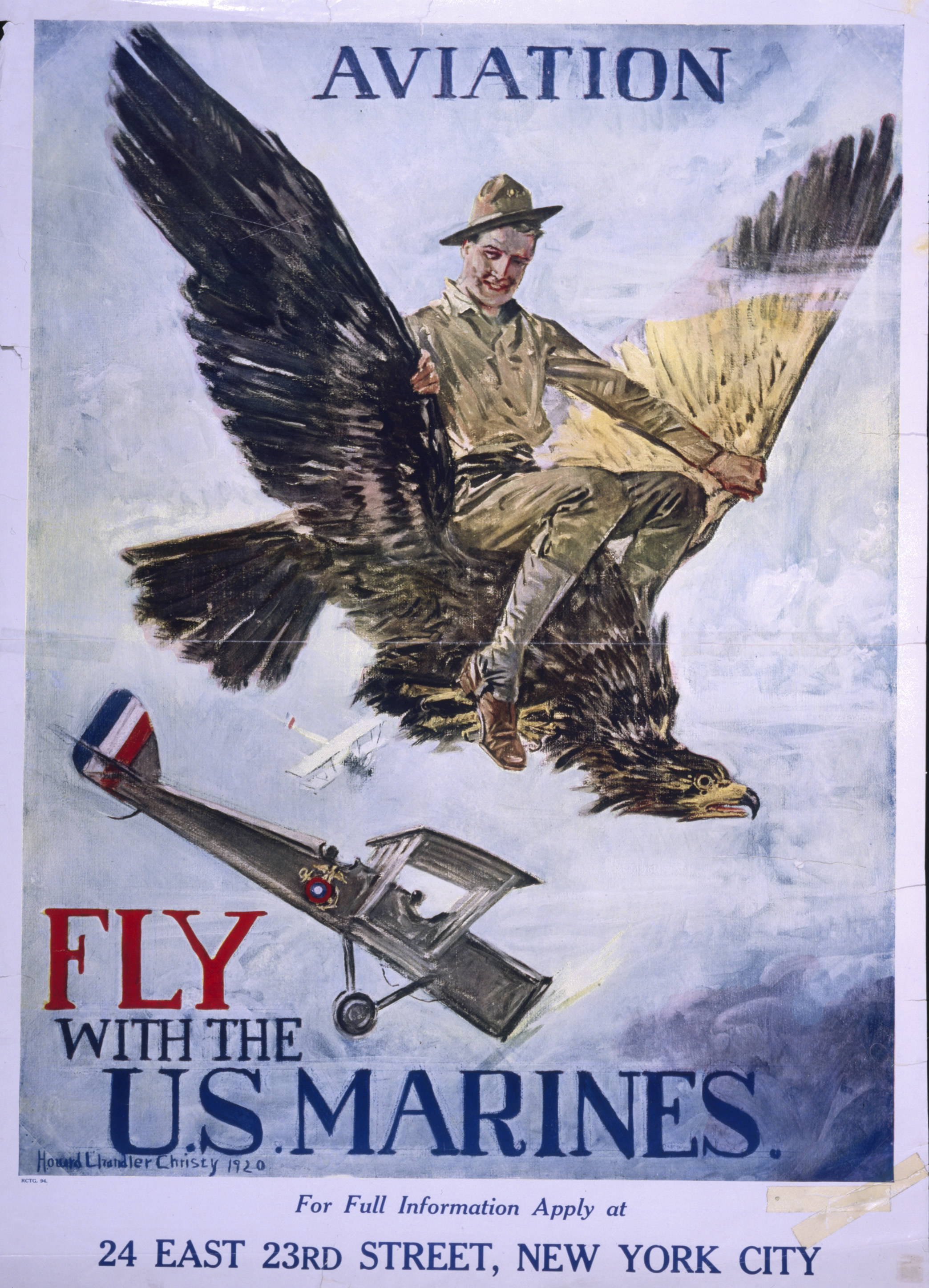 Marine Corps Aviation Recruiting Poster National Air And
