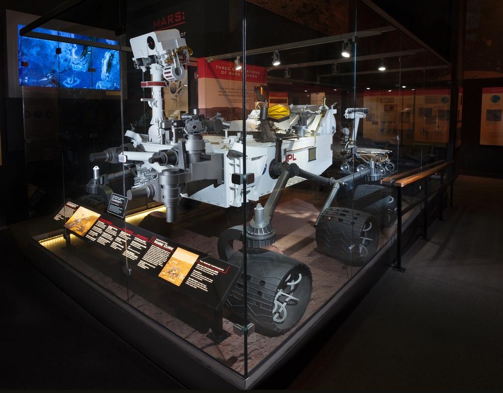 curiosity rover scale model - photo #7