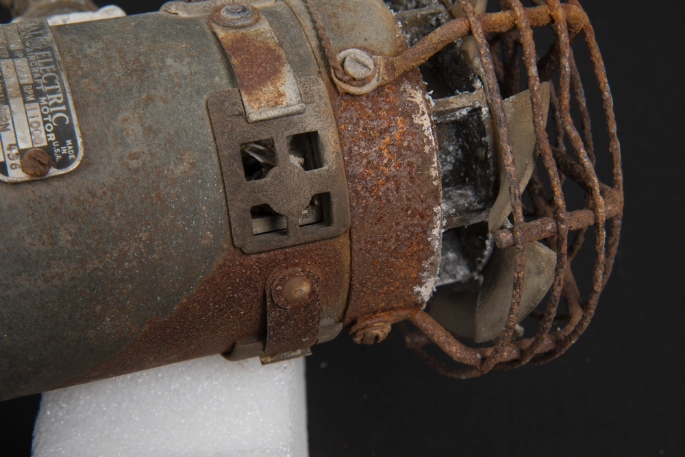 Corrosion on GE Compressor